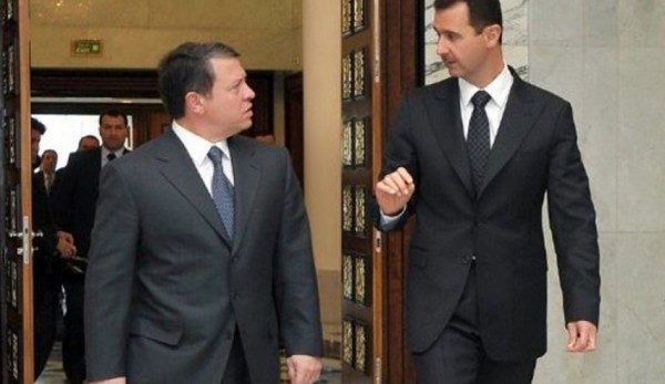 رسالة من بشار الأسد إلى الملك عبد الله.. ما فحواها؟