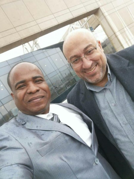 المهندس النوبي يصل بيروت لإستلام جائزة الابداع العربي والريادة وسام صانعي التغيير