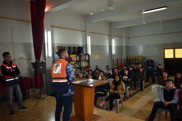 لجان العمل الصحي تستهدف طلبة المدارس في نابلس بمبادرات لمكافحة التدخين