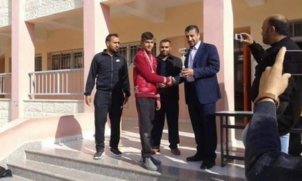 اختتام بطولة كأس الشهيد ابو عمار في مدرسة واد السلطان الأساسية المختلطة