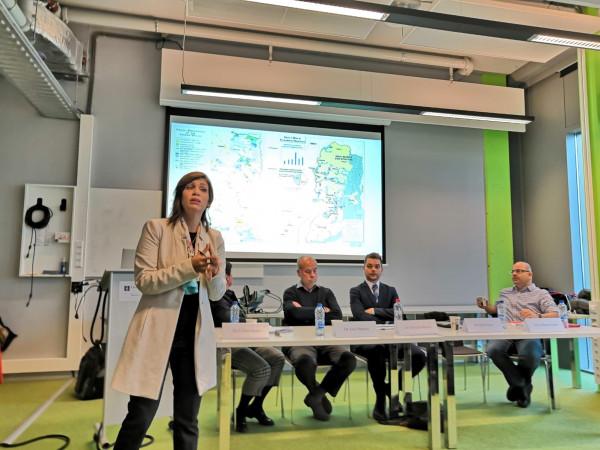 الجامعة العربية الامريكية تشارك في ندوة في جامعة أمستردام في هولندا