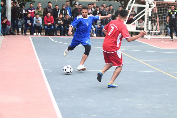 تنظيم الكلية الجامعية: انطلاق بطولة التضامن لخماسيات كرة القدم لمؤسسات التعليم العالي