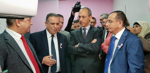 رئيس وحدة سرطان الثدي في مستشفى بيت جالا يشكر القنصل الإيطالي