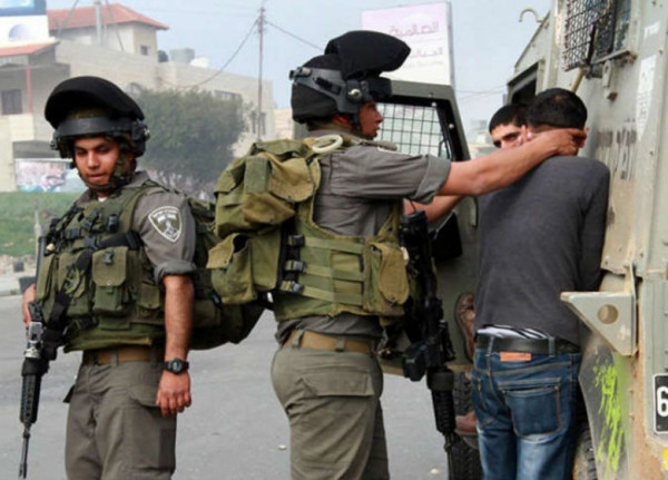 قوات الاحتلال تعتقل 16 مواطناً في مناطق متفرقة من الضفة الغربية