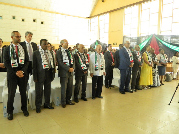 زامبيا: أحياء يوم التضامن العالمي مع الشعب الفلسطيني