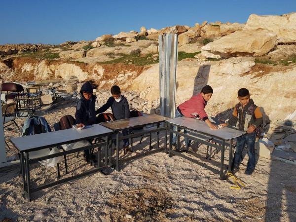 الاحتلال الإسرائيلي يُكرر اعتداءه على مدرسة التحدي 13 السيميا الأساسية المختلطة
