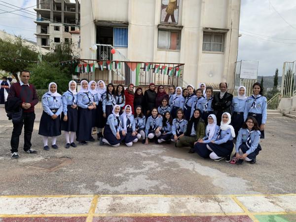 تربية طولكرم تنظم مهرجان مركزي لمكافحة الفساد في مدرسة بنات عنبتا ث