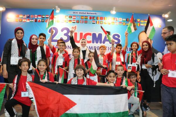 التربية: فلسطين تحقق مراكز متقدمة في مسابقة الحساب الذهني العالمية