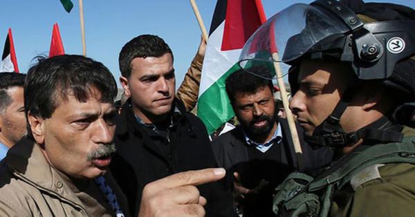 إقامة فعالية لإحياء ذكرى الشهيد زياد أبو عين بقرية (الخان الأحمر)