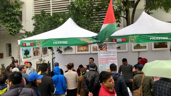 سفارة دولة فلسطين في فيتنام تشارك في مهرجان الطعام الخيري السنوي