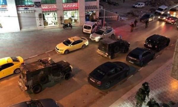 ست إصابات بالرصاص المطاطي في اقتحام الاحتلال لحي المصايف برام الله
