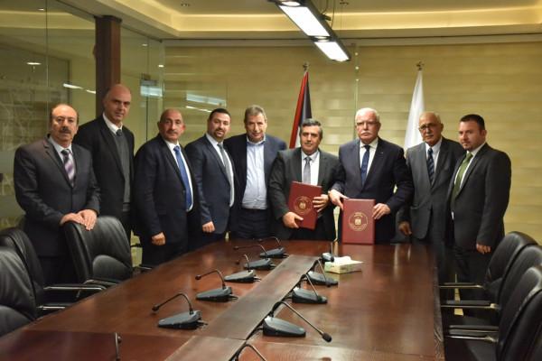 وزارة الخارجية وعدة بلديات يوقعون مذكرة شراكة لتنظيم مؤتمر لمغتربي بيت لحم ٢٠١٩