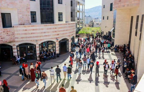 مجلس الاتحاد نقابات والعاملين في الجامعات يستكر اقتحام حرم جامعة القدس