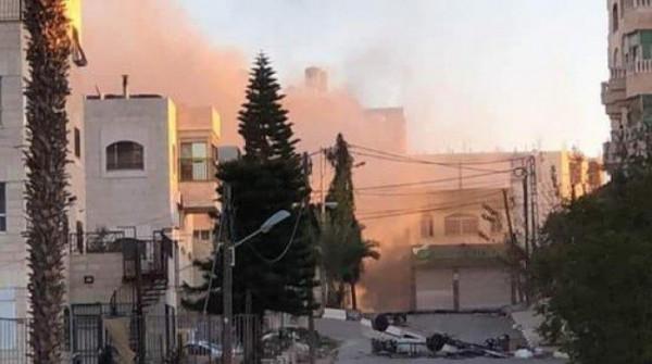 حماس: اقتحام مخيم الأمعري وتفجير منزل أبو حميد جريمة نكراء