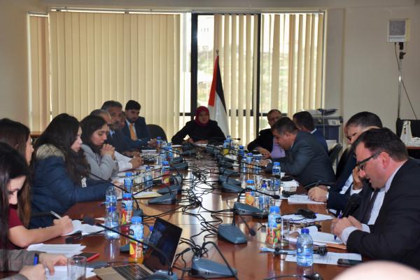 """""""الخارجية والمغتربين"""" تعقد ورشة عمل بعنوان """"تقييم المخاطر في القطاع القضائي الفلسطيني"""""""