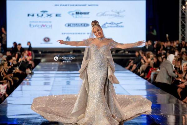 632adaebe هاني البحيري يكشف ثمن فستان نيكول سابا في عرض أزيائه.. الرقم خيالي ...