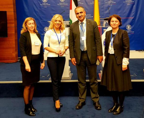 توسيع التعاون يبن فلسطين ورومانيا في عديد المجالات التربوية والتعليمية