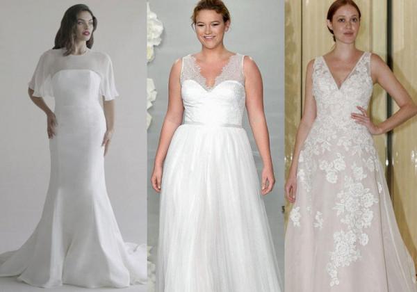 219c5bce1a104 صور  موديلات فساتين زفاف للممتلئات 2019