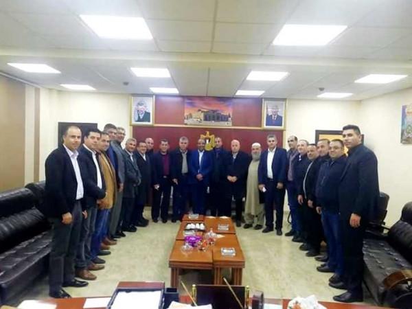 انتخاب فواز شحادة رئيسا لغرفة تجارة وصناعة محافظة سلفيت