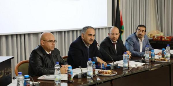 الجامعة العربية الأمريكية تحتفل بمرور 5سنوات على إطلاق بوابة بيئة التواصل الالكتروني