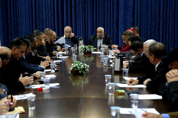 إشادة في أريحا بقرار الدستورية حل المجلس التشريعي وإجراء انتخابات تشريعية