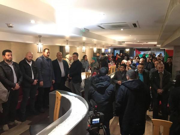 الجالية الفلسطينية في بريطانيا تنتخب هيئتها الادارية