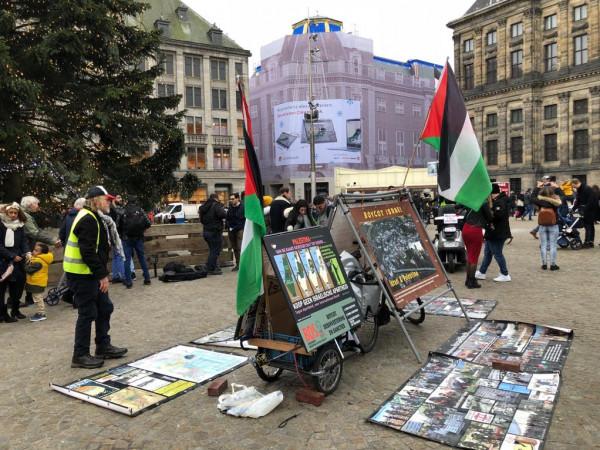 """المؤتمر الشعبي يكرم المتضامن الهولندي """" سيمون فروني"""" تقديرا لجهوده في نصرة الشعب الفلسطيني"""