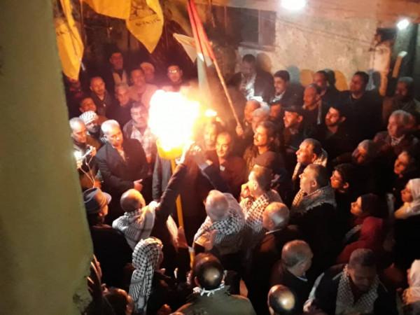 النضال الشعبي في سوريا تشارك في إيقاد شعلة انطلاقة الثورة