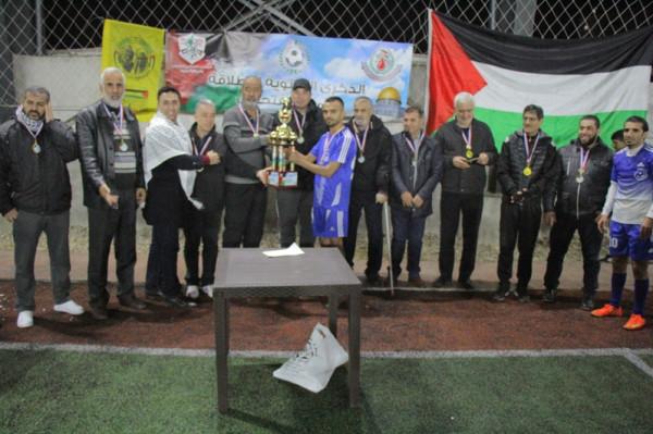 فلسطين تجمعنا بطلاً لكأس انطلاقة المارد الفتحاوي 54