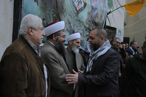 """حركة فتح في المية ومية تحيي الذكرى الـ""""54"""" للإنطلاقة"""