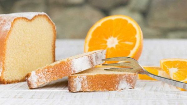 كيك البرتقال الهش