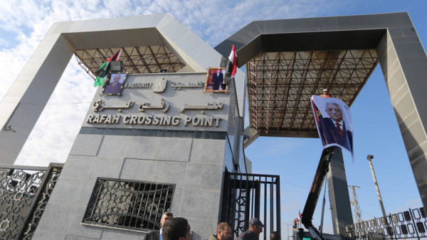 السلطة تسحب جميع موظفيها من (معبر رفح) احتجاجاً على الاعتقالات بغزة
