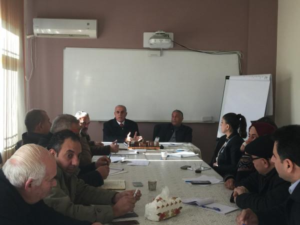 تربية بيت لحم تستعرض قضايا تربوية خلال اجتماع رؤساء الاقسام