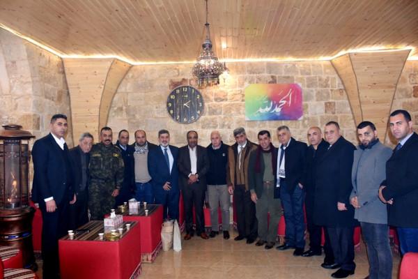 محافظ سلفيت يستقبل وفدا من لجنة اعادة اعمار مخيم اليرموك