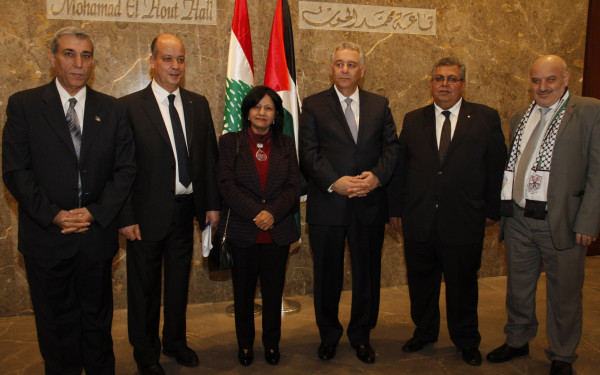 سفارة دولة فلسطين في لبنان تحيي ذكرى الانطلاقة
