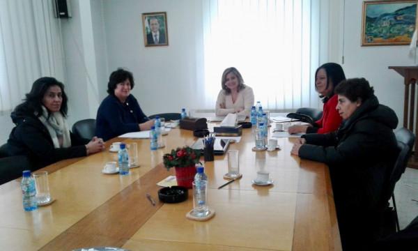المنظمة النسائية الديمقراطية الفلسطينية تلتقي رئيسة الهيئة الوطنية لشؤون المرأة اللبنانية