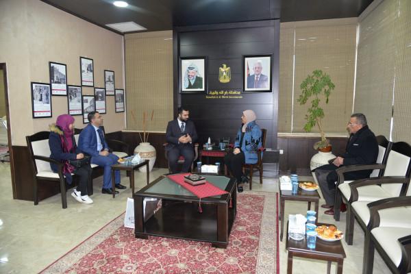 محافظ رام الله والبيرة والملحق الثقافي التركي يبحثان سبل التعاون المشترك