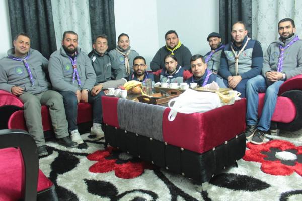 قادة خليل الرحمن الكشفية ونشامى الخليل يعودون قائد التدريب الدولي نزار الشيخ