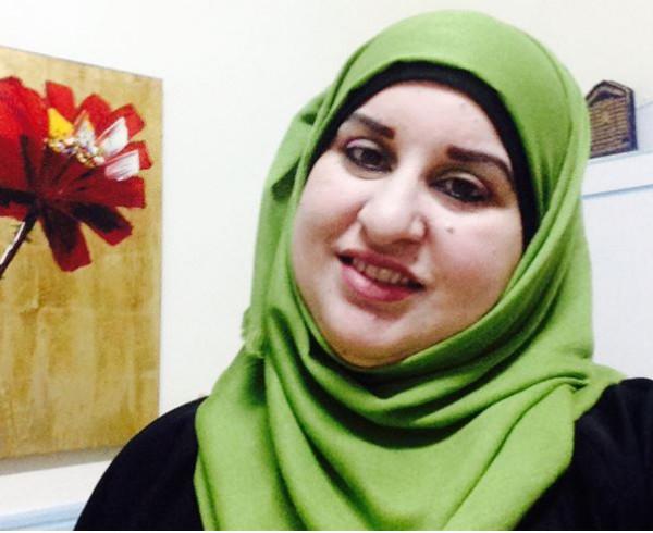 """""""عبير حامد"""" ضمن رائدات فلسطين"""