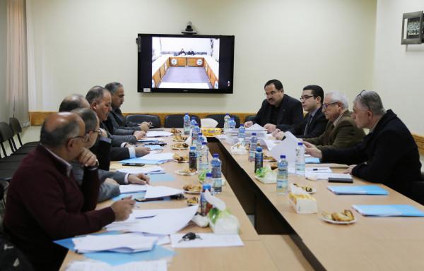 اللجنة العُليا لمعادلة الشهادات تناقش عدداً من الملفات