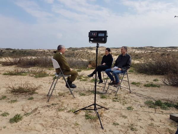 """آيزنكوت: مشكلة غزة معقدة جداً وتتطلب علاجًا """"متعدد الأبعاد"""""""