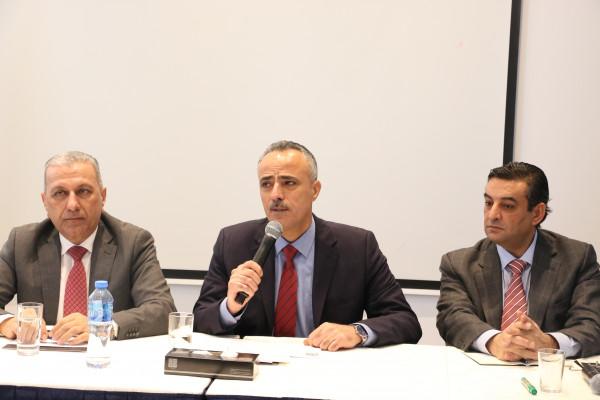 أبو دياك يشارك في إطلاق مشروع رصد وجمع التشريعات الناظمة لقطاعي العدالة والأمن