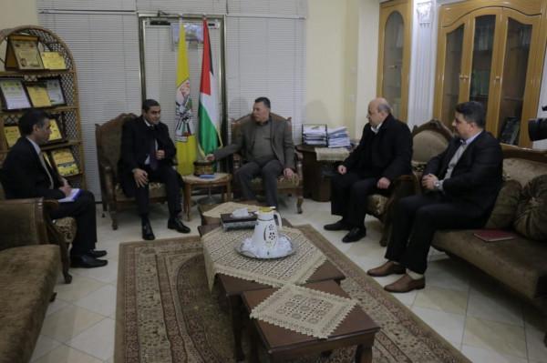 الكشف عن تفاصيل اجتماع الوفد المصري مع وفد فتح برئاسة حلّس