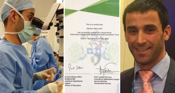 طبيب لبناني يحصد أعلى لقب عالمي في طب العيون في العالم