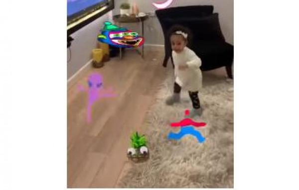 """فيديو: ابنة محمد رمضان ترقص على اغنيته """"مافيا"""""""