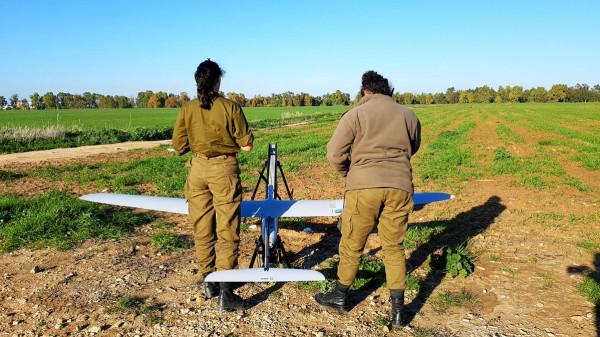 """شاهد: إطلاق طائرات """"راكب السماء"""" لرصد المتظاهرين على حدود القطاع"""
