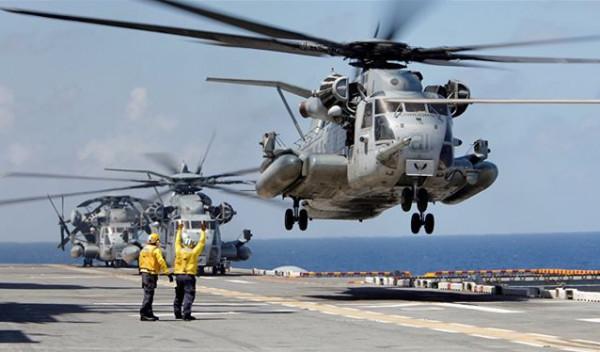 سفن حربية أمريكية تتجه إلى سوريا