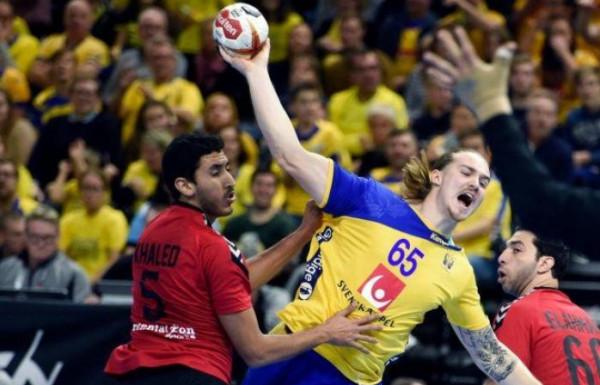 مصر تخسر أمام السويد في افتتاح مبارياتها ببطولة العالم لكرة اليد