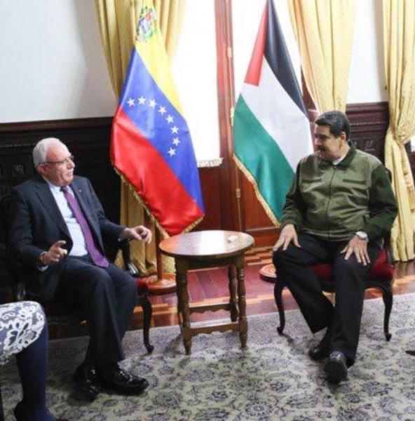 الرئيس الفنزويلي مادورو يُجدد التزام بلاده بدعم صمود الشعب الفلسطيني