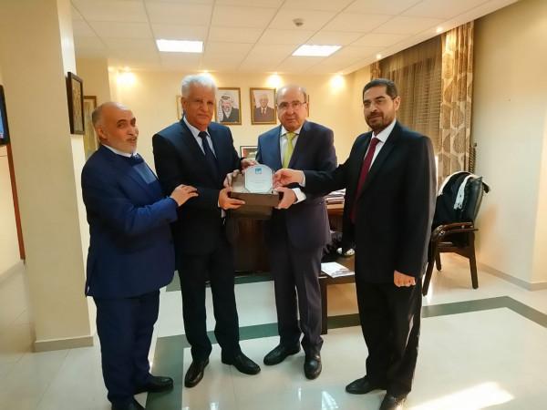 الهيئة العربية الدولية للإعمار في فلسطين تزور المملكة المغربية